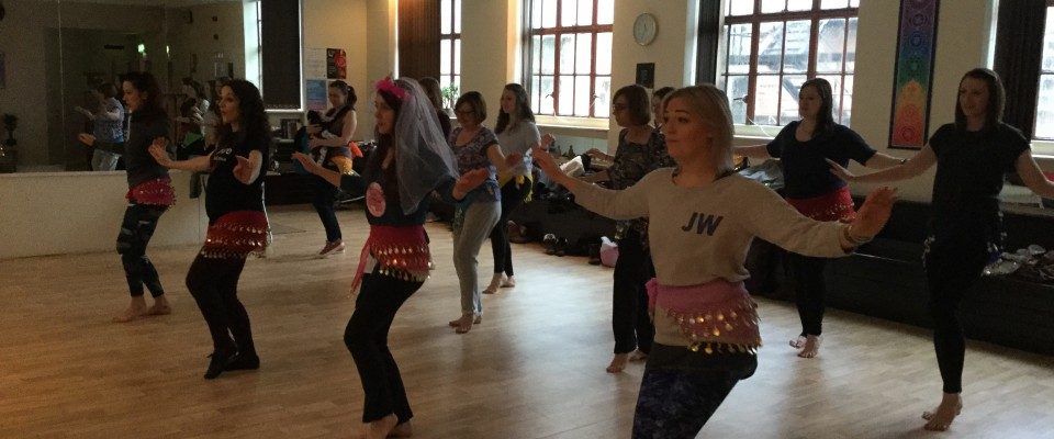 Pure Belly Dance hen party, 2015