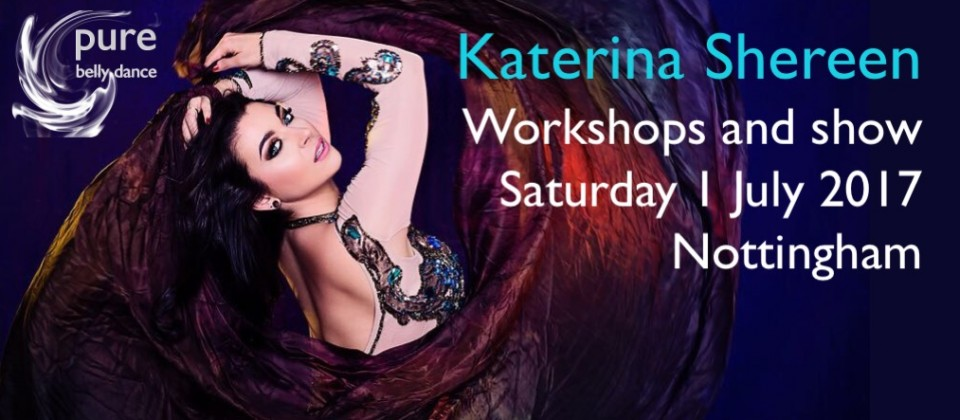 Unique opportunity to experience a world class belly dance artist