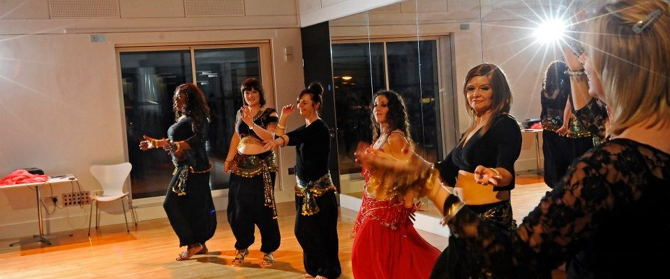 Pure Belly Dance performance in Nottingham. Photo © Anthony Hopwood, 2011