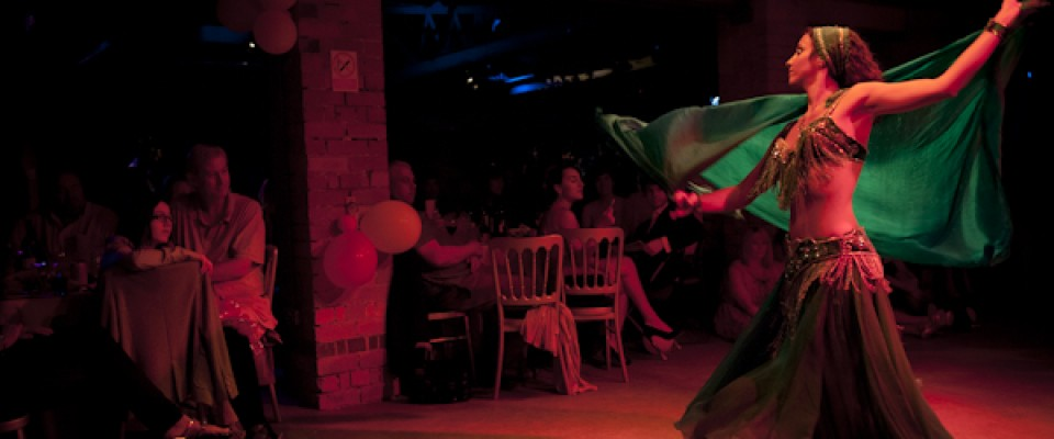 Performance at a charity event in Nottingham. Photo © Paul Carroll, 2011